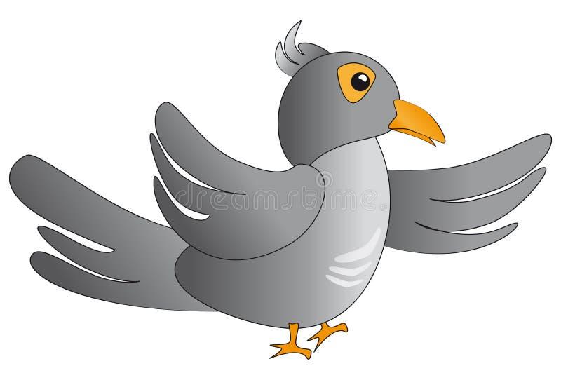 Uccello del cuculo illustrazione vettoriale