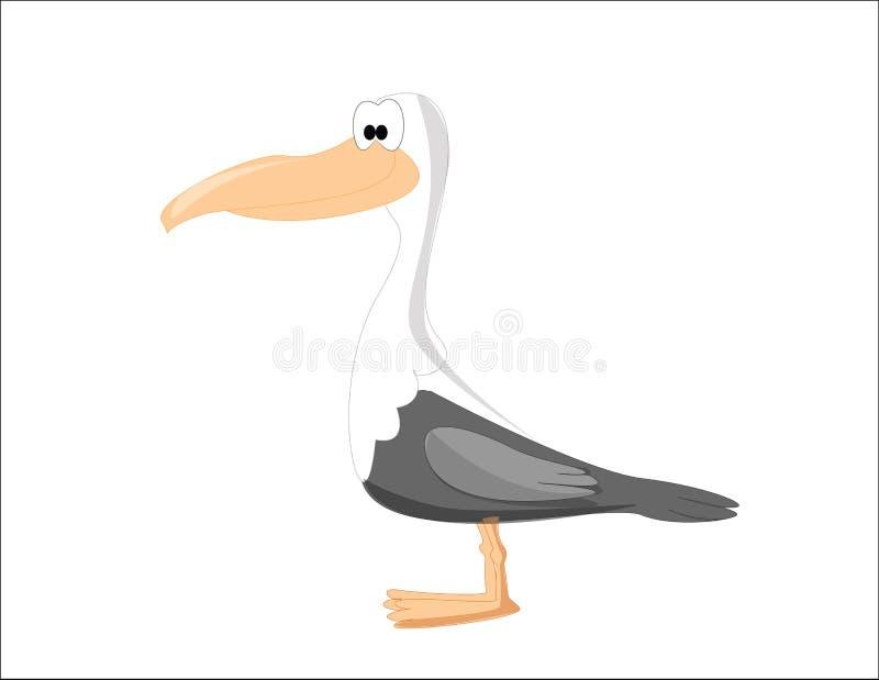 Uccello del fumetto immagini stock