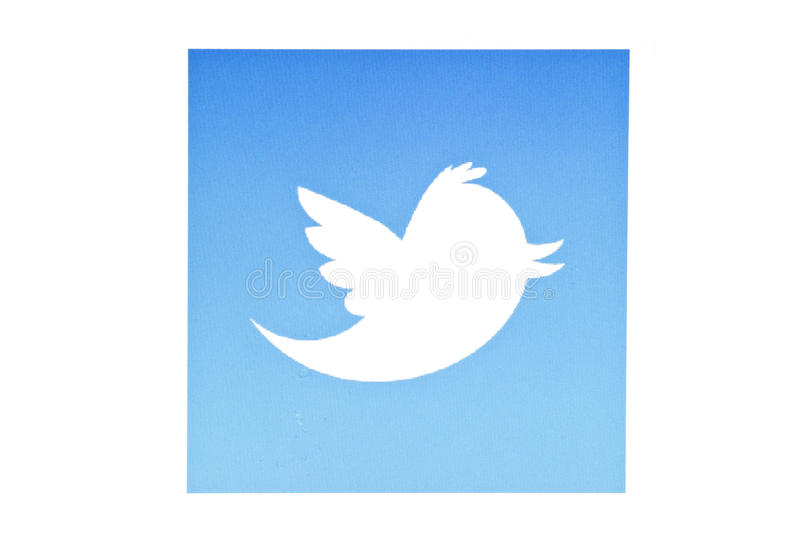 Uccello del Twitter immagine stock libera da diritti