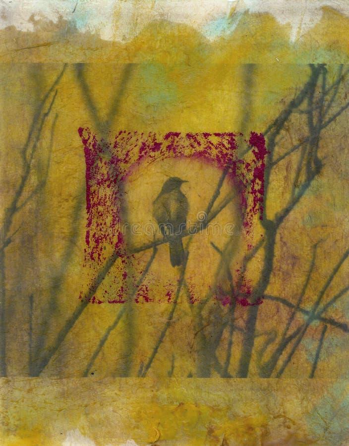Uccello di arte   illustrazione vettoriale