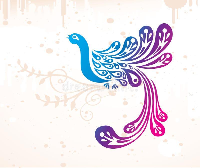 Uccello di fantasia royalty illustrazione gratis