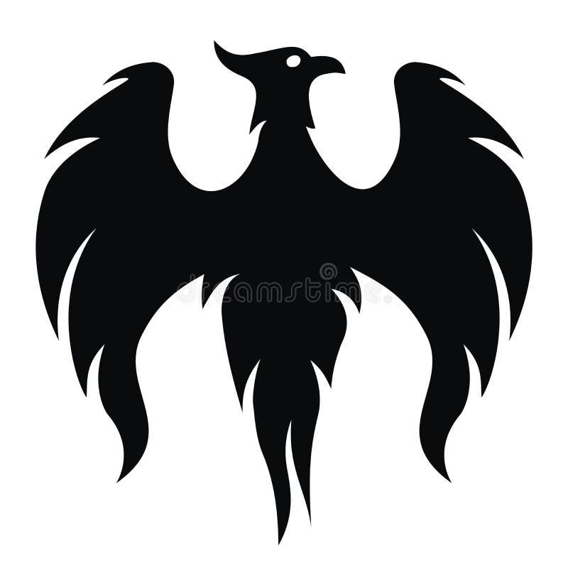 Uccello di Phoenix () illustrazione vettoriale