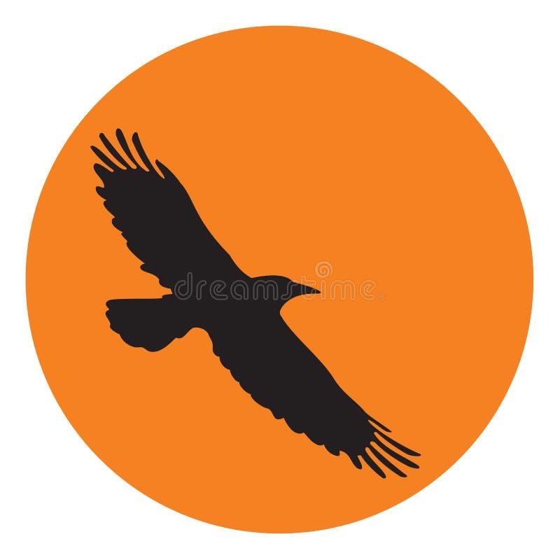 Uccello di volo royalty illustrazione gratis