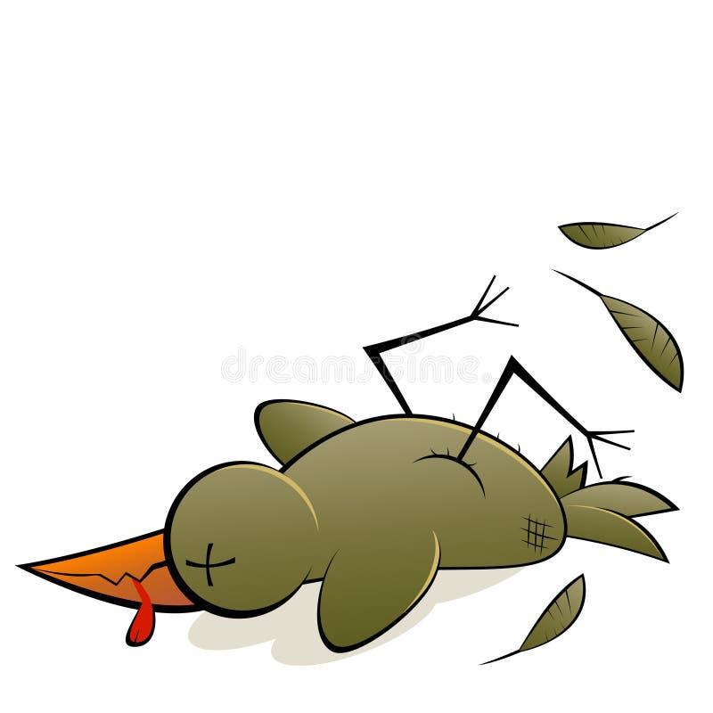 Uccello guasto illustrazione vettoriale
