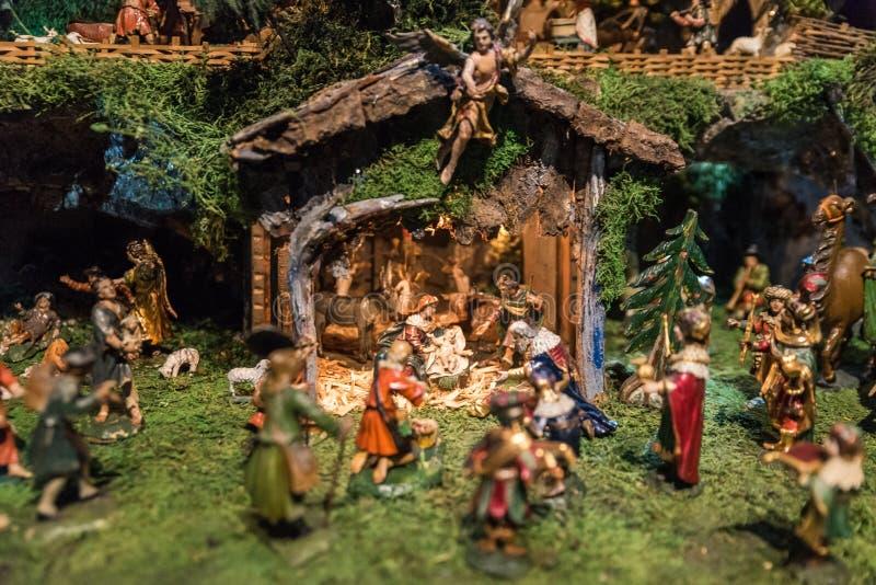 Ucha histórica do Natal fotografia de stock royalty free