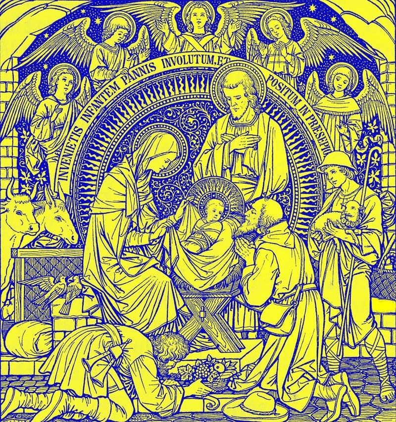 Ucha - Natal ilustração do vetor