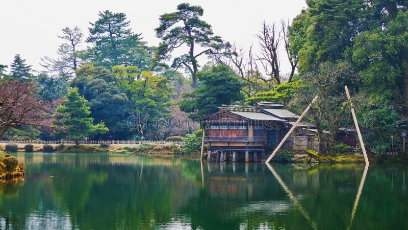 Uchihashi-tei à Kanazawa image stock