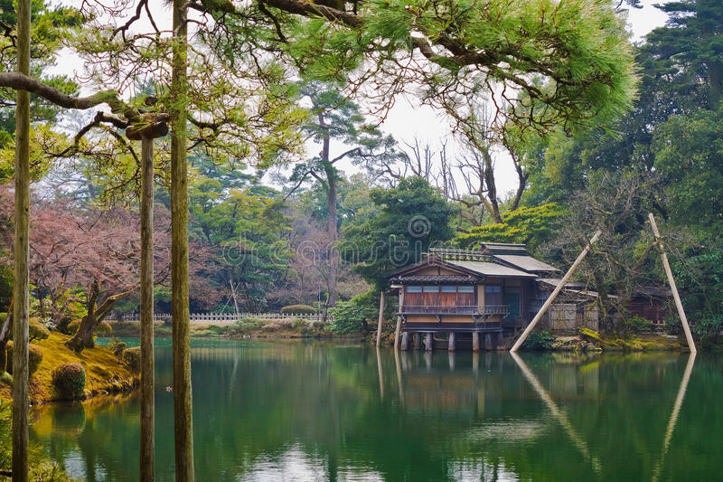 Uchihashi-tei à Kanazawa photographie stock libre de droits