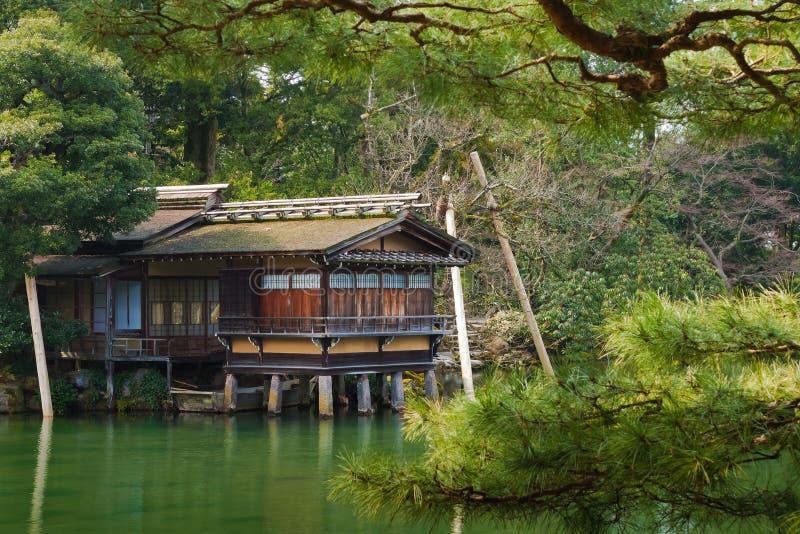Uchihashi-tei à Kanazawa images libres de droits