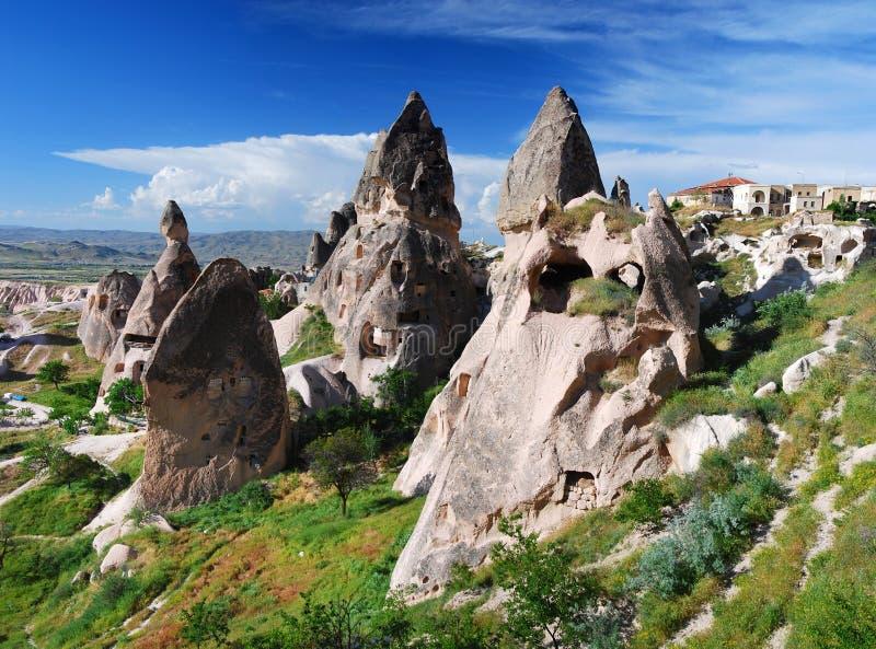 Uchisar / Cappadocia royalty free stock photos