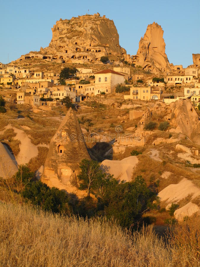 Uchisar, Cappadocia fotos de stock royalty free