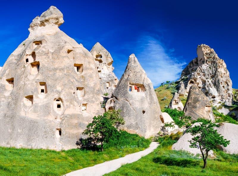 Uchisar, Cappadocia, Turkey royalty free stock photography