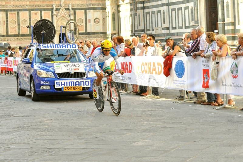2013 UCI Drogowego Światowego mistrzostwa w Florencja, Tuscany, Włochy obraz stock