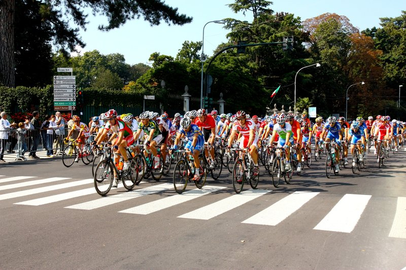 Uci Road World Championships 2008 royalty free stock image