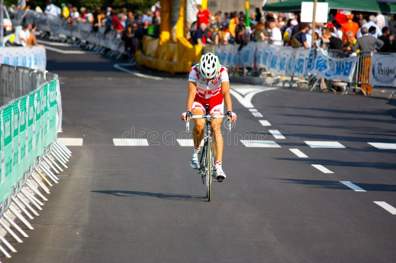 Uci Road World Championships 2008 royalty free stock photo