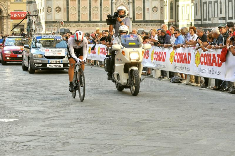 The 2013 UCI Road World Championships in Florence, Tuscany, Italy royalty free stock photography