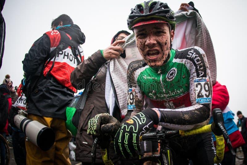 UCI-Wereldbeker Cyclocross - Hoogerheide, Nederland stock foto's