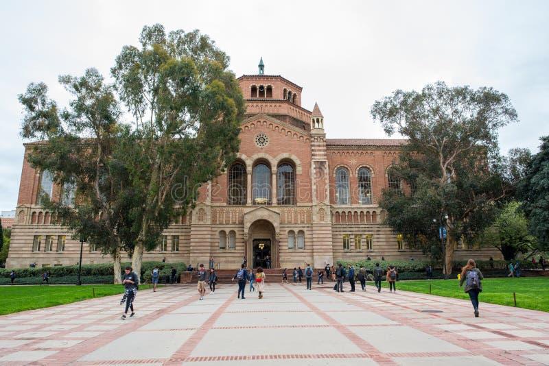 UCLA стоковое изображение rf