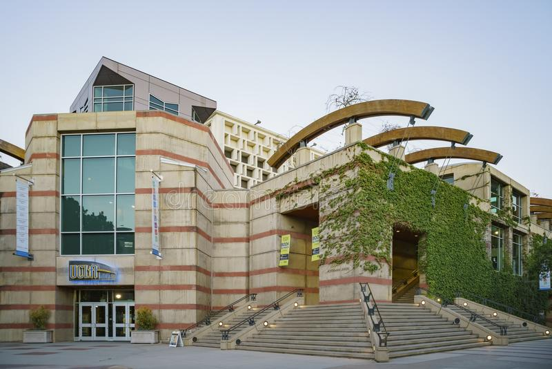 UCLA Book Store and Ackerman Union. Westwood, JUN 21: UCLA Book Store and Ackerman Union on JUN 21, 2017 at Westwood, Los Angeles County, California, United stock images