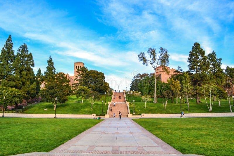 UCLA-Campus royalty-vrije stock foto's