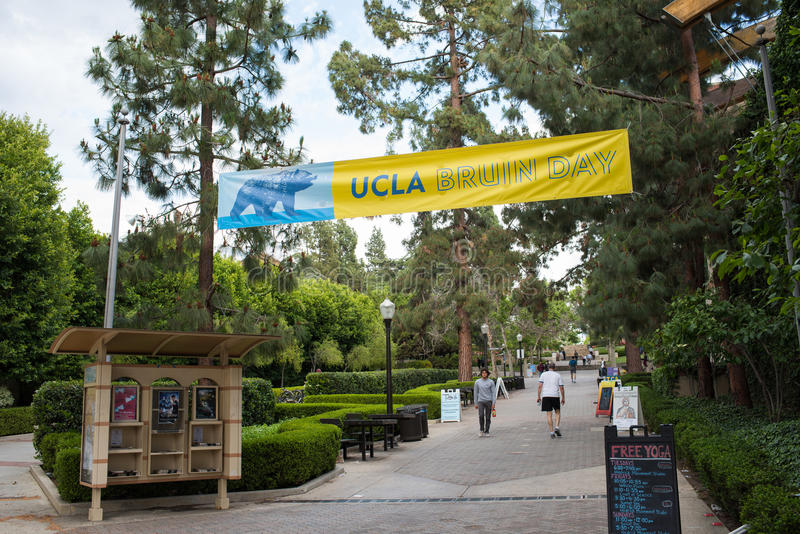 Ucla-Campus stockbild