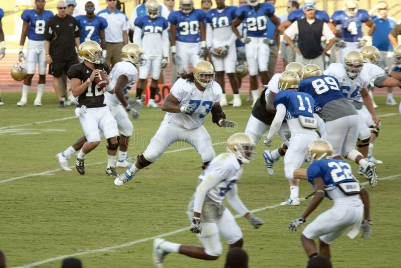 UCLA Football Scrimmage stock photos