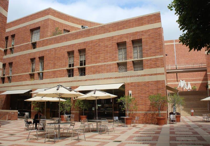 UCLA Marion Anderson podwórze, Anderson zarządzanie studium podyplomowe w Los Angeles obrazy stock