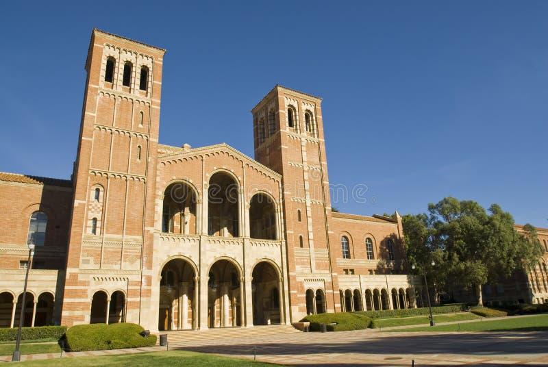 UCLA Royce Corridoio immagini stock