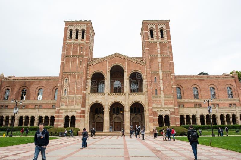 UCLA Royce Salão fotos de stock