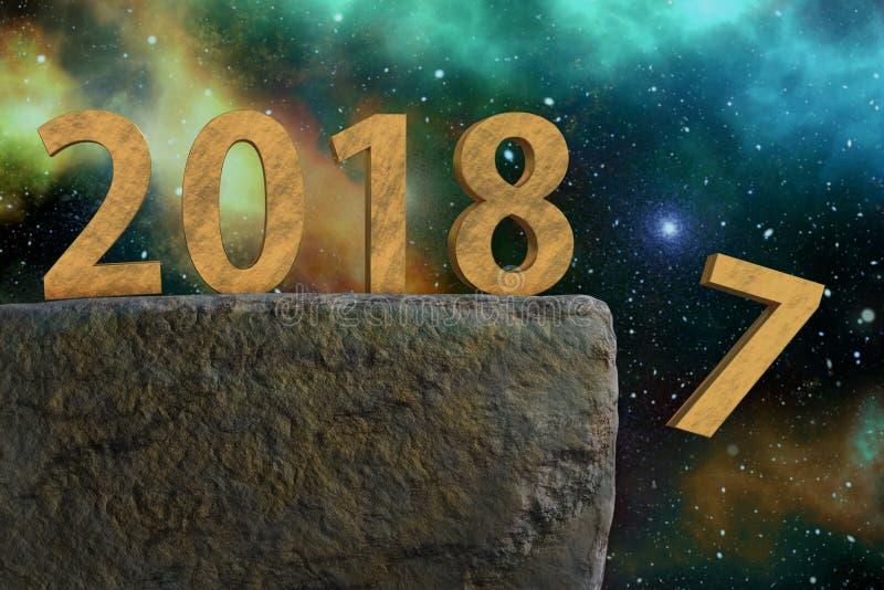 uczcić nowy rok ilustracji