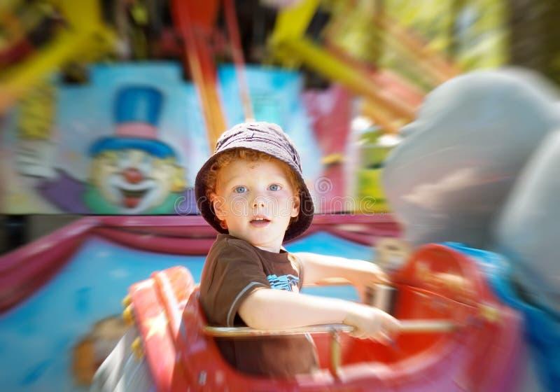 uczciwa zabawy dzieciaka przejażdżka obrazy royalty free