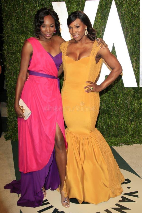 uczciwy Serena bezcelowości venus Williams zdjęcie stock