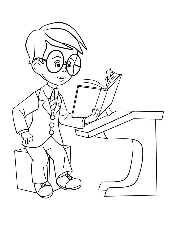 uczeń ilustracji