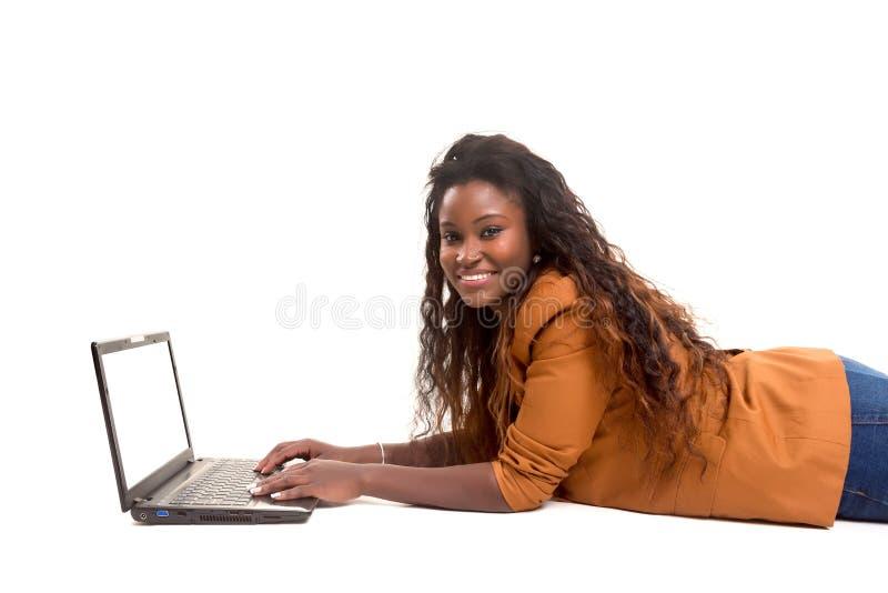 uczeń afrykańskiej zdjęcia stock
