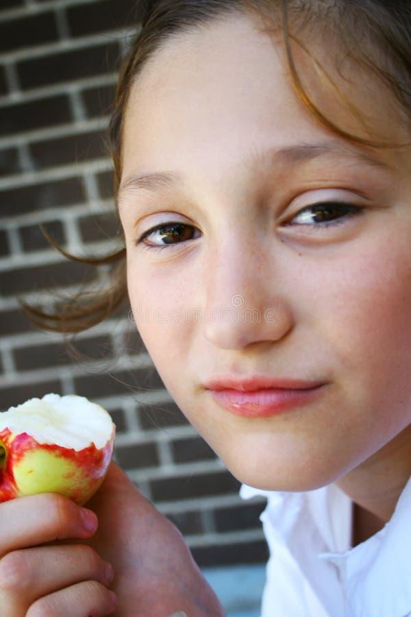 uczeń jabłkowego obrazy stock