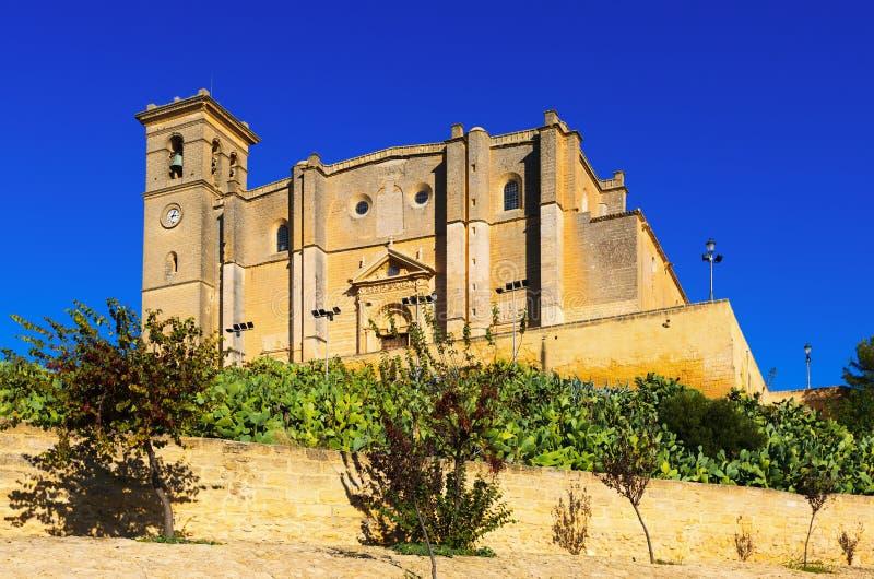 Uczelniany kościół i monaster Osuna zdjęcie royalty free