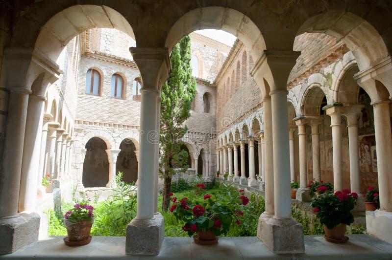 Uczelniany kościół Santa Maria, Alquezar, Hiszpania - zdjęcie royalty free