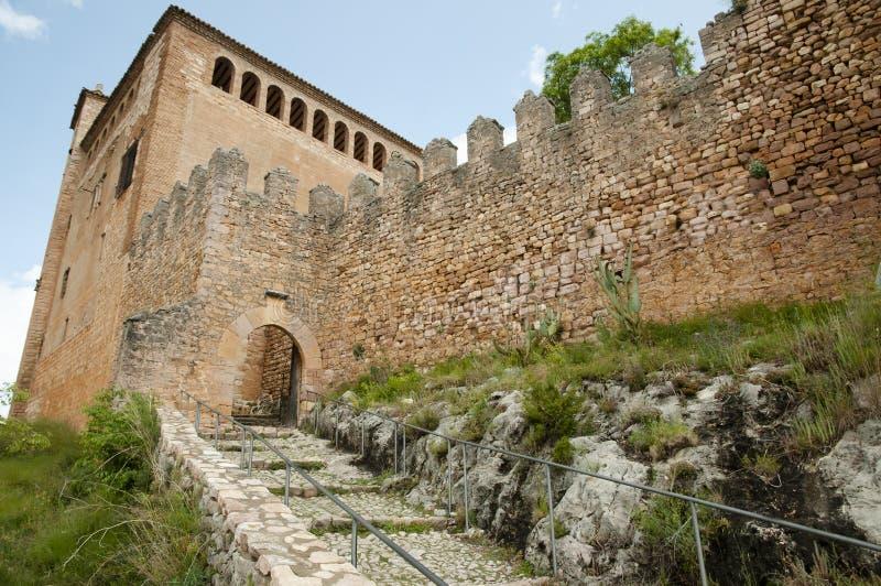 Uczelniany kościół Santa Maria, Alquezar, Hiszpania - obraz royalty free
