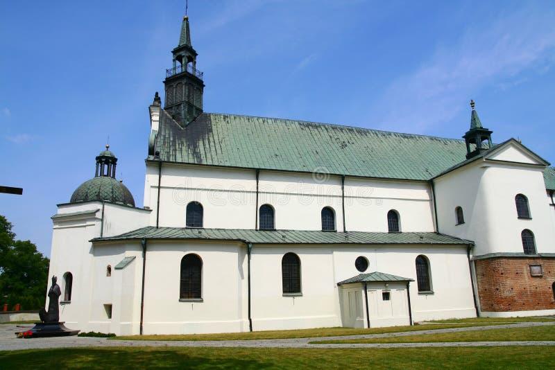 Uczelniany kościół w Pultusk fotografia royalty free
