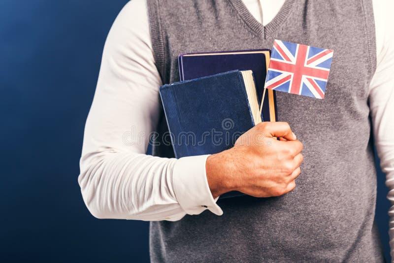 Uczenie język angielski obrazy royalty free