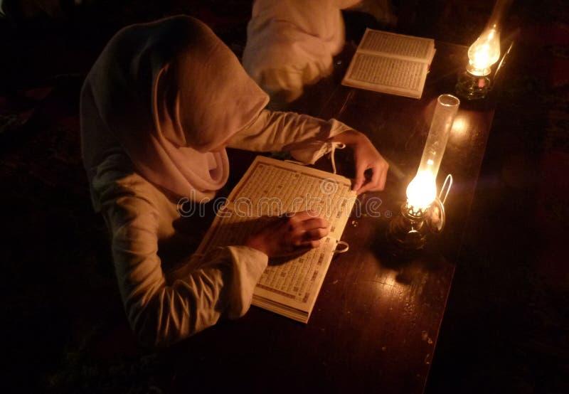 Uczenie Koran zdjęcia stock