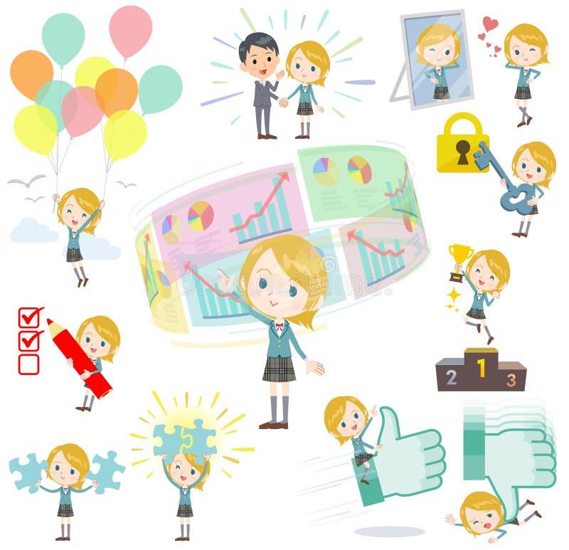 Uczennica pozytyw & ilustracji