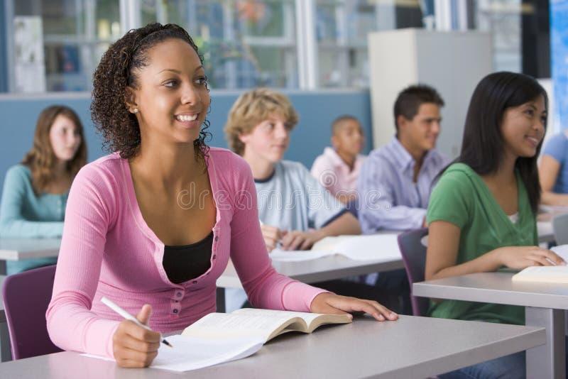 uczennica szkoły średniej klasy obrazy stock