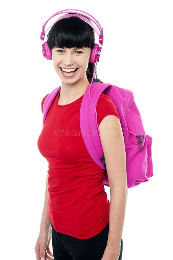 Ucznia target691_0_ muzyka na jej sposobie szkoła wyższa obraz royalty free
