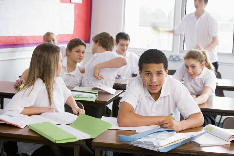 uczniowie szkoły średniej klasy zdjęcie stock