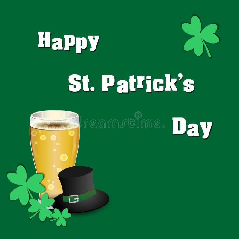 Uczta St Patrick ` s dzień obraz royalty free