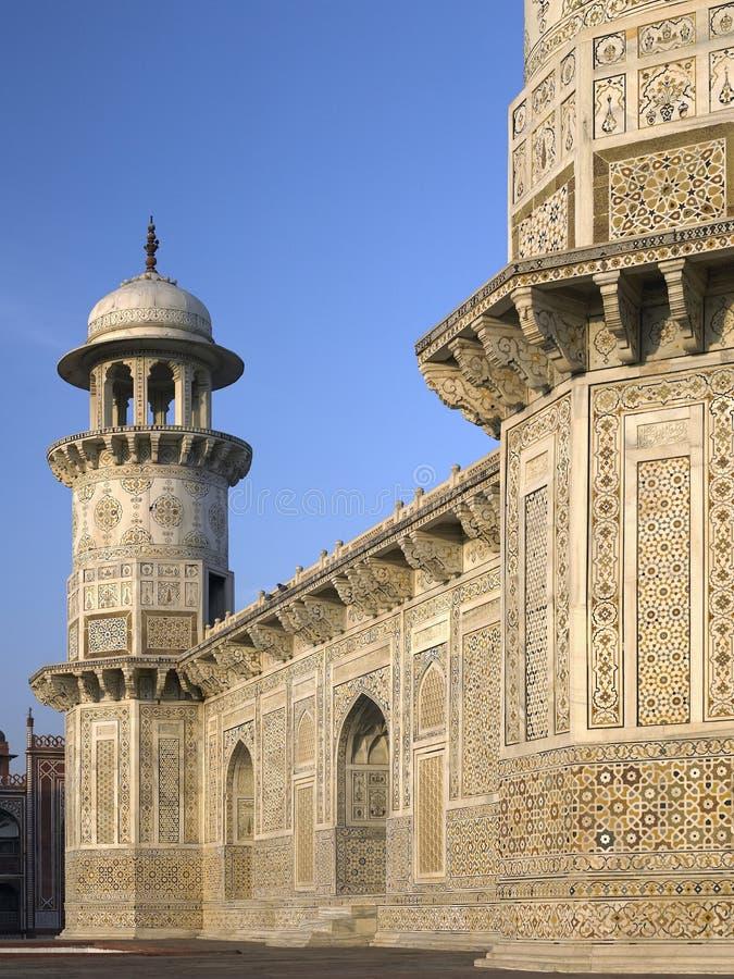 Ud усыпальницы Itimad Индии Daulah Agra Стоковые Фото