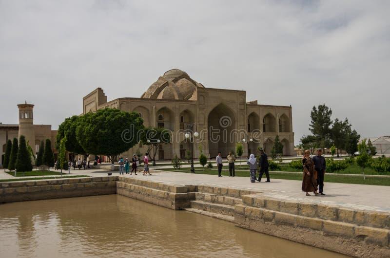 ud uzbekistan för naqshband för helhet för buller för bahabukhara bukhari Bukhara Uzbekistan arkivbilder