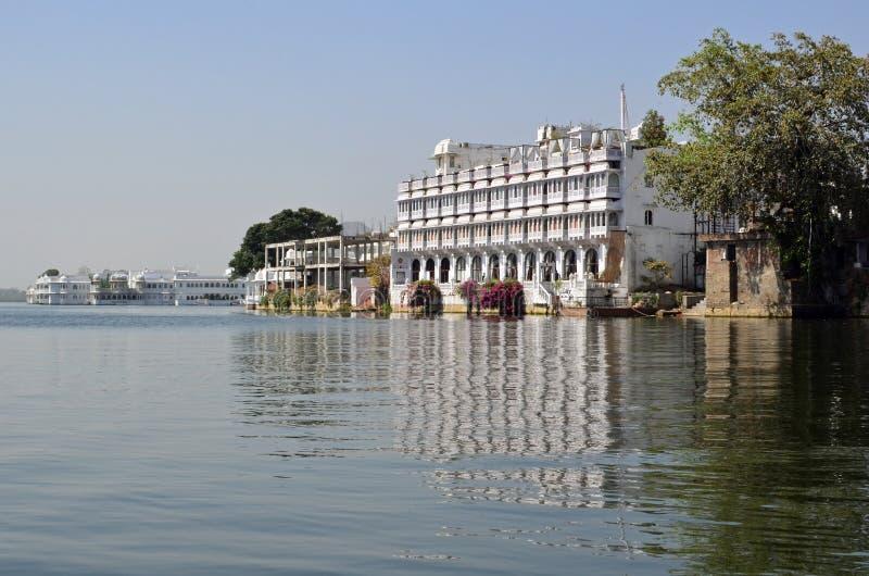 Udaipur и озеро Pichola, Раджастхан, Индия стоковая фотография