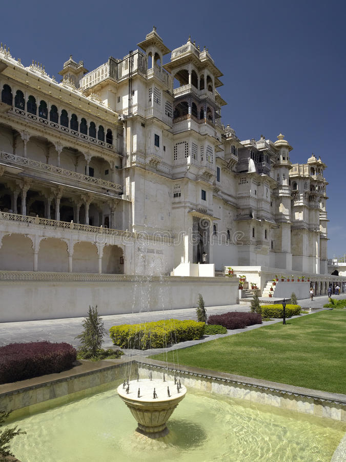 Udaipur - City Palace - India Editorial Stock Photo